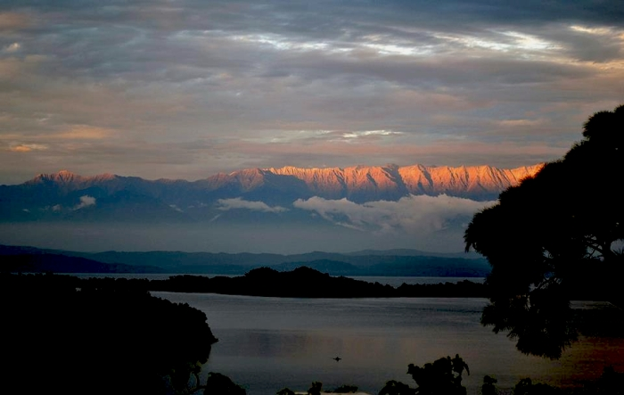 View of Himalayas from Kangra Valley. Credit: Monica Sarkar