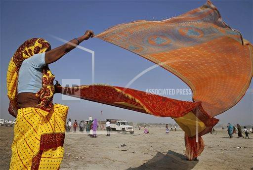 Photographed by Rajesh Kumar Singh, AP.